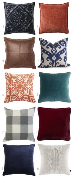 Pillows for Fall - C