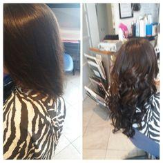 Extension Bologna tessitura senza treccine sottostanti le ciocche sono di capelli europei marca She per informazioni 3287465153