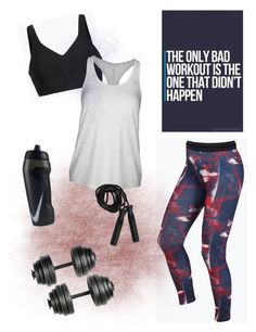 """Changes"" by gardenofroses on Polyvore featuring Lorna Jane, NIKE, tanktop, adidas, workout and gym"