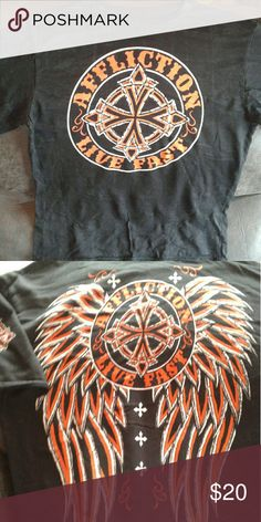 Boys Youth Affliction Boys Youth Affliction in EUC. Comes from a smoke free home. Affliction Shirts & Tops Tees - Short Sleeve