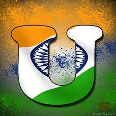 independence day indian alphabet flag letter p tiranga profile chumke independence day flag alphabet sweet jokes love story tip trick independence day flag