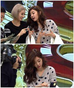 Hyeri#Sojin#Girls day#Laughing