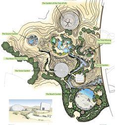 Saudi Arabia is building the world's largest botanical gardens on nearly 2.5 million square meters of desert land near Riyadh. A stellar environmental