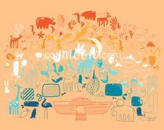Noah's Ark: Rainbow Ark, Baby Room, Moon, Rainbow, Home Decor, The Moon, Rain Bow, Rainbows, Decoration Home