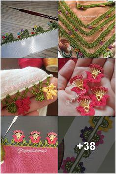 Crochet Necklace, American, Model, Jewelry, Jewlery, Jewerly, Scale Model, Schmuck