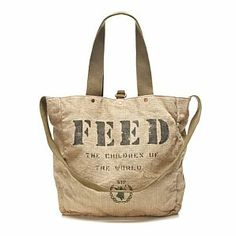 86d60b9fcaea The Feed 2 gym bag is a perfect concept. You get to give back and carry a  super cute and functional tote
