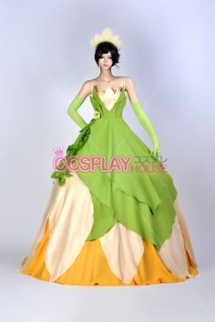 Disney -- The Princess and the Frog - Tiana Cosplay Costume Version 01 - Cosplay House