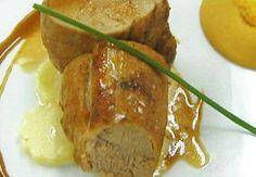 Receta de Solomillo de ternera con salsa de naranja