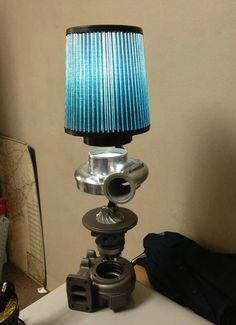 Turbo lamp! Wish I could find a couple of these at a junkyard...
