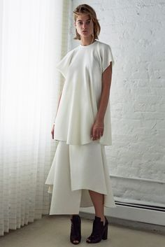 Ellery Resort 2015 - BLANCO et BLANC - Shadowflower. I may as well pin the entire collection it's so good.