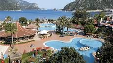 This is a five star hotel which is located on the beach which is close to many bars, restaurants and shops. Both all inclusive and half board available