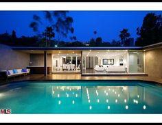 Bruno Mars' Hollywood Hills home.