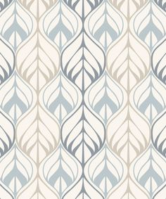 Wall wallpaper drawing of leaves Nordic style Omey … Textured Wallpaper, Wall Wallpaper, Pattern Wallpaper, Cotton Lawn Fabric, Textile Pattern Design, Frame Wall Decor, Tribal Patterns, Pattern Library, Nordic Style