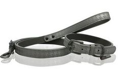 Nicole Miller Collar and Leash Set in Silver Houndstooth