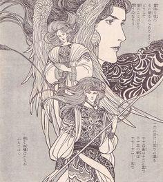 1981年プチフラワー冬の号:プチ・イラスト・エッセイ 内田善美