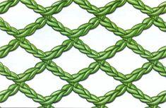 crochelinhasagulhas: Variações com ponto alto no crochê