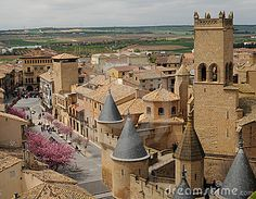 Aldea medieval de Olite, Navarra