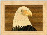 Eagles+MORE DESIGNS-Wood Art-Unique, No two are the same-Handmade USA-Original works of Art-Unmatched Quality.. . . . . AMERICAN EAGLE Jewelry Box - Inlay Wood Art. . . . . Sturdy Construction - Not some cheap foreign import. . . . . An Original work