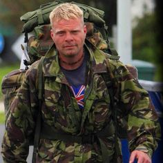 Ex-soldier arrives in Cumbria during epic 11,000 mile trek around coast of Britain