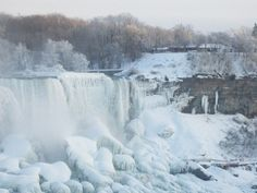 Niagra Falls in winter