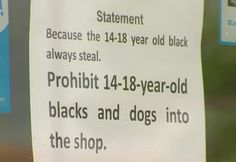 Australian Shop Causes Outrage After Banning Black Teens Because They 'Always Steal'