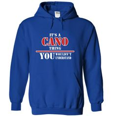 Its a CANO Thing, You Wouldnt Understand!