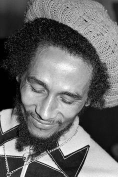 Robert Nesta Marley (1945-1981) - Jamaican reggae singer-songwriter, musician, and guitarist.