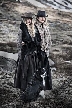 High Autumn/Winter 2014 Various Campaigns | Ilse de Boer and Sophie Vlaming bu Carl Bengtsson #fashioncampaigns #fallfashion