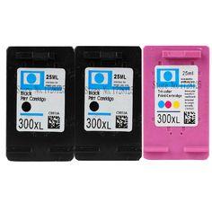 3x Compatible HP 300 XL ink cartridge fo Deskjet F2400 F2420 F2480 F2492 F4210 F4280 F4500 F4580 D2560