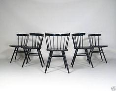 GEORGE NAKASHIMA STRAIGHT BACK CHAIRS / knoll international 1947 | modern-furniture.de