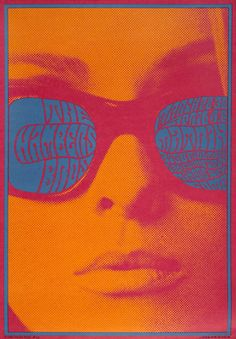 The Chambers Brothers | Matrix | March 28-30 & April 4-6, 1967 | Vintage Rock and Roll Concert Poster | Master Print