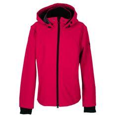 Wellensteyn Damen Jacke / Form: Luminata / Farbe: rot schwarz / aus dem Wellensteyn Online Shop