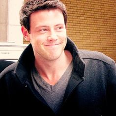 Cory Monteith.....dimples.