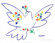 Dove of Peace Posters by Pablo Picasso at AllPosters.com