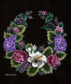 One Stroke Wreath. Hazel Lynn