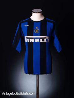 7934c0fff 2004-05 Inter Milan Home Shirt  Mint  XL Football Kits