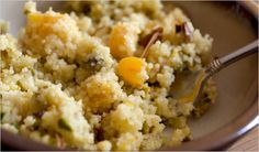 Sweet Almond Milk Couscous
