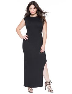 MICHAEL Michael Kors Plus Size Sleeveless Printed Maxi Dress