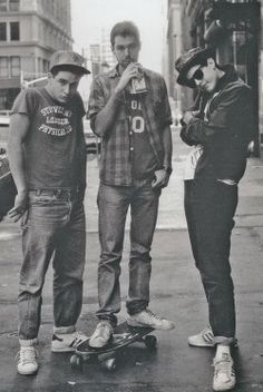 beastie boys.  obviously.
