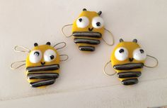 bees - magnets. Cute