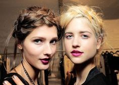 Nine Out-Of-The-Box Ways To Wear Braids This Spring : Lucky Magazine