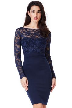 Fitted Midi Dress, Lace Dress, Neckline, Gowns, London, Formal Dresses, Fashion, Models, Formal Gowns