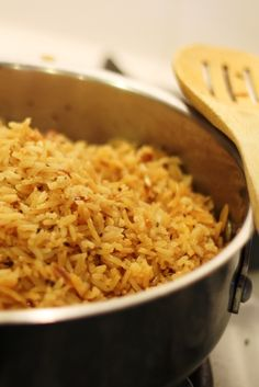 Seasoned Rice Pilaf  (aka Homemade Rice a Roni) - Boxed rice mixes are a thing of the past, especially when you know how to make a healthier, cheaper, and tastier seasoned rice pilaf yourself.