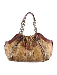 483c44756bec Christian Louboutin Python Handle Bag