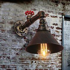 Rétro Lanterne Rustique Traditionnel Classique Lampe suspendue Pour