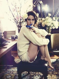 Lana Del Rey by Nicole Bentley for Vogue Australia October 2012