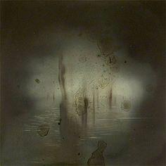 Darren Waterston, Edge (Twilight), Oil on Linen, 12 x 12, 2008