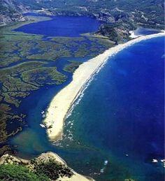dalyan iztuzu plajı muğla