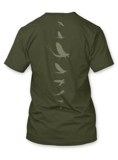 Rep Your Water - Mayfly Spine Tee