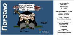 """CORES DE CAMBADOS: PRESENTACIÓN DO LIBRO """"FLOREANO"""" DE GOGUE"""